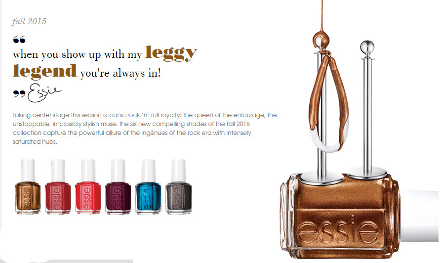 Essie nail polish colletion for Fall 2015