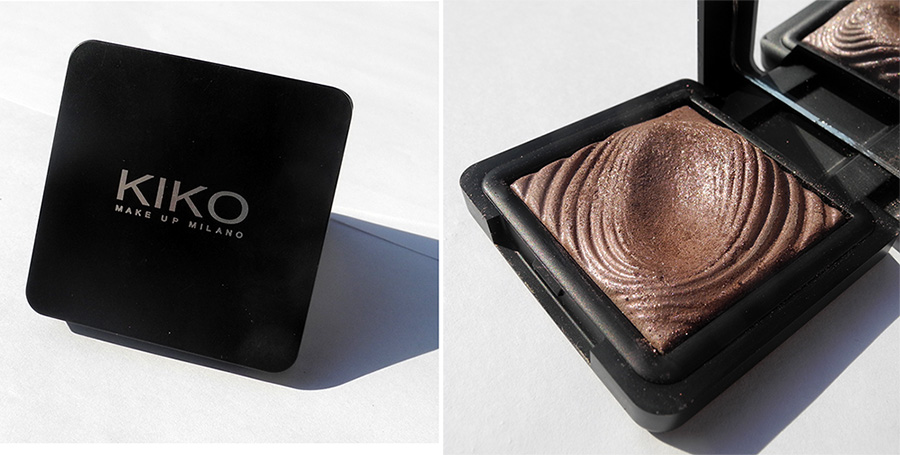 Kiko Long-Lasting Wet & Dry Use Eyeshadow in 202 Golden Mauve Review and Swatches