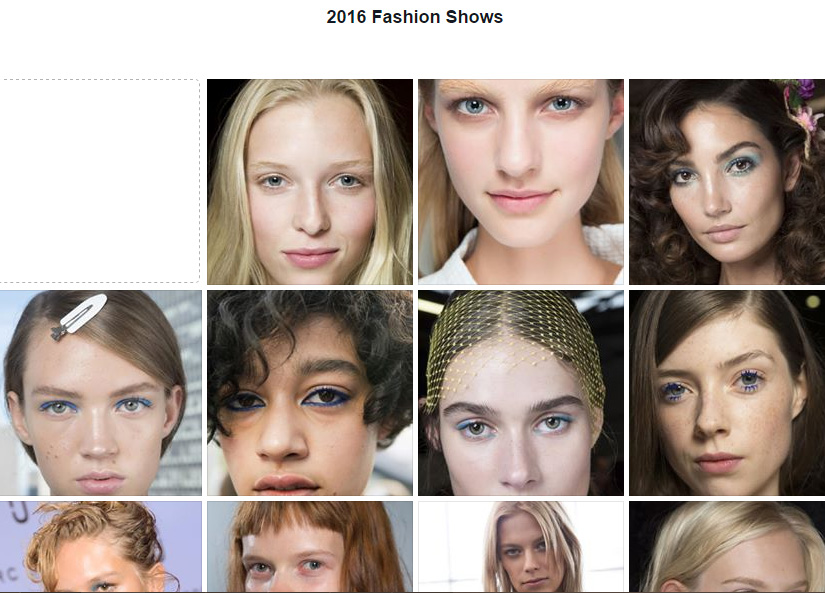 SS2016 Fashion Shows Beauty Looks makeup4all