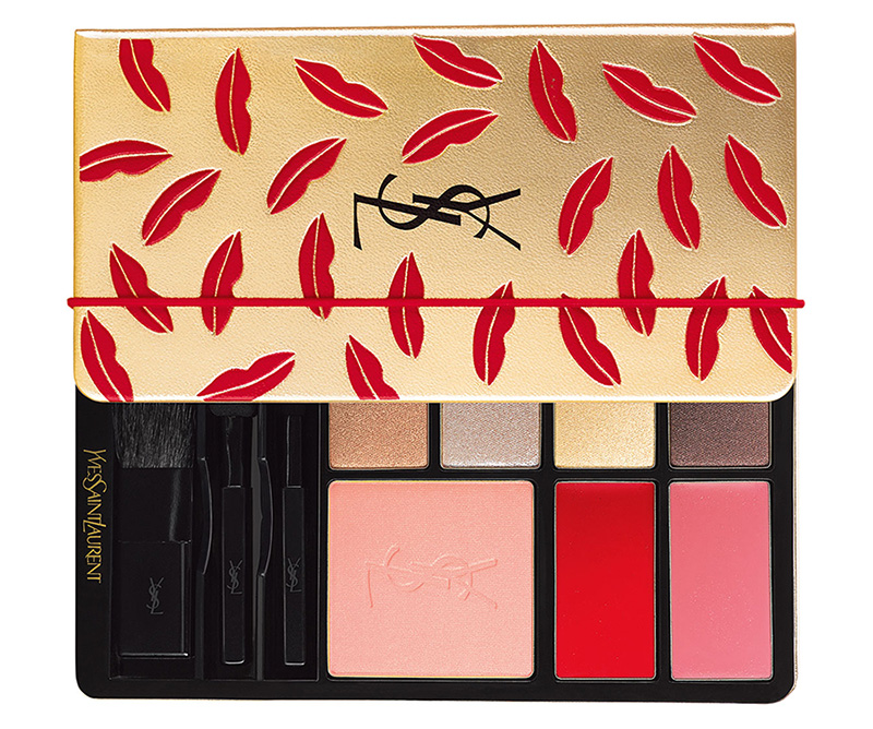 YSL Limited Edition Kiss & Love Makeup Palette fall  promo