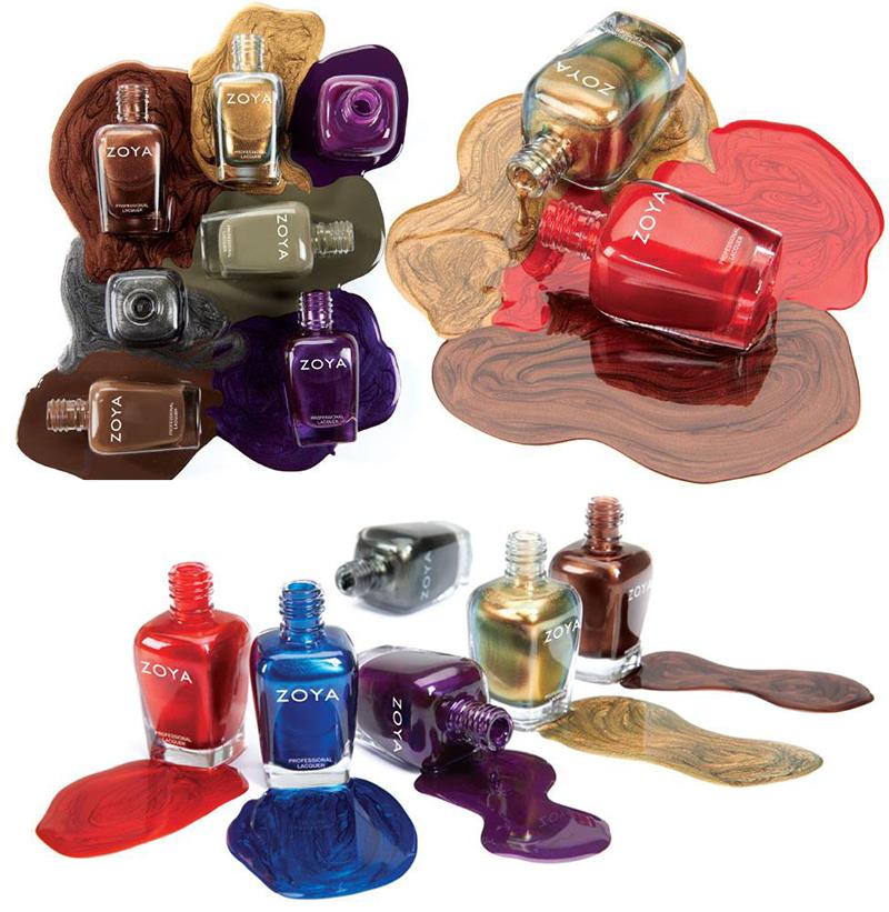 Zoya Focus and Flair nail polish collection fall 2015