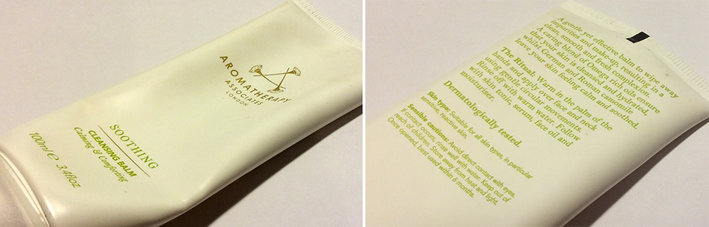 Aromatherapy Associates Soothing Cleansing Balm Review