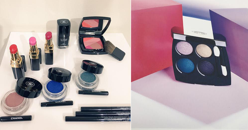 Chanel makeup for Spring 2016