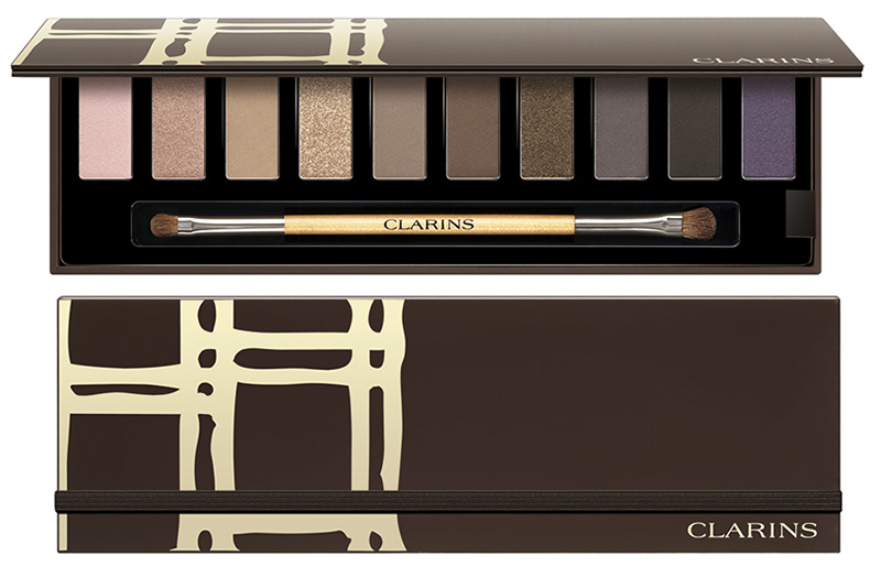 Clarins Festive Eye Make-Up Palette for Chrismas 2015