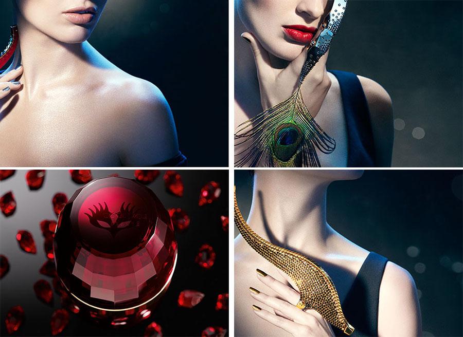 Cle de Peau Bal Masqué makeup collection promo photos