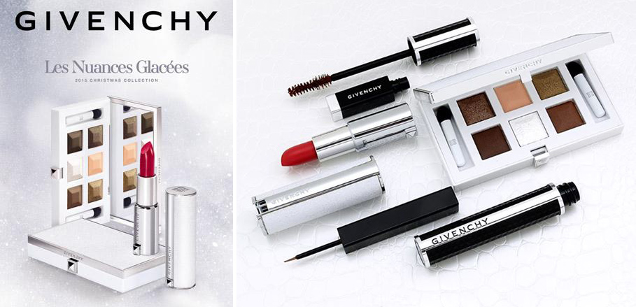 Givenchy Le Nuances Glacee Makeup collection for Chrismtas 2015