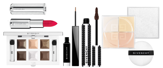 Givenchy Les Nuances Glacees Makeup Collection for Christmas 2015 products