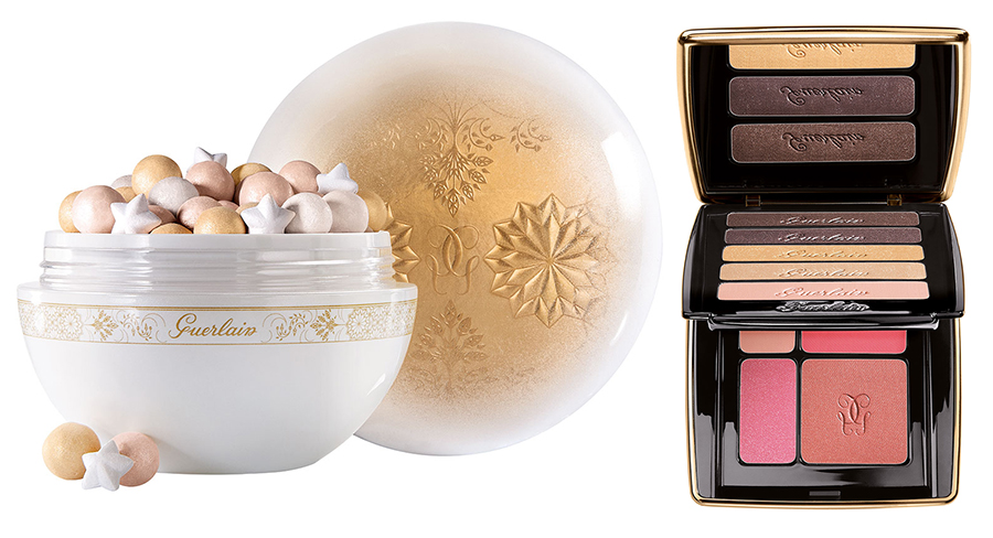 Guerlain Winter Fairy Tale Makeup Collection for Christmas 2015 meteorites and palette