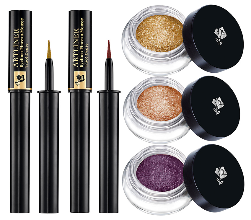 Lancome Makeup Collection for Christmas 2015 eye shadows