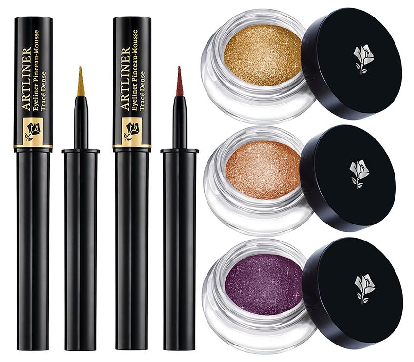 Lancome Makeup Collection for Christmas 2015 eye shadows