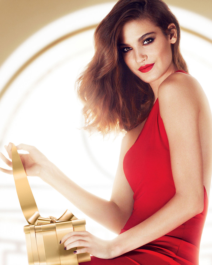 Lancome Makeup Collection for Christmas 2015 promo image