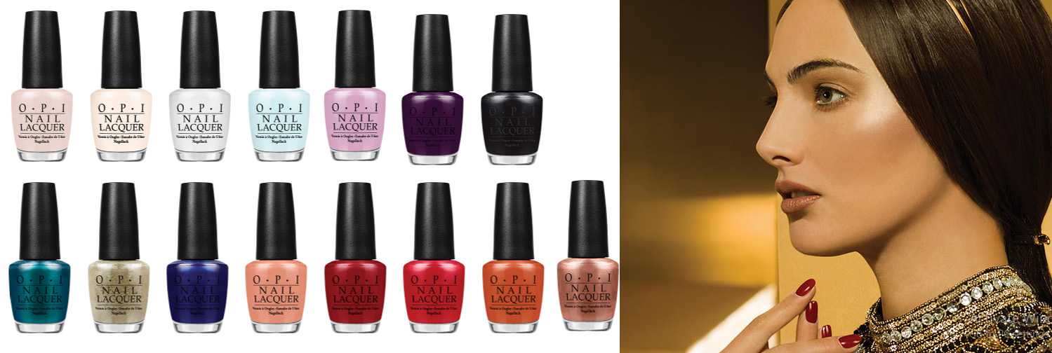 OPI Venice Nail Polish collection AW 2015