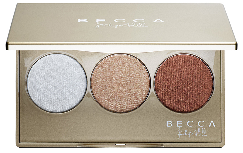 Shimmering Skin Perfector Pressed Champagne Glow Palette featuring Champagne Pop x Jaclyn Hill holiday 2015