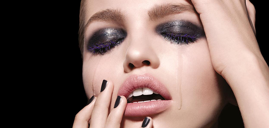 Tom Ford Noir Color Makeup collection for Christmas 2015 products promo mofel