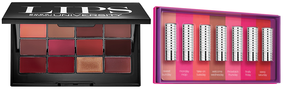 Bobbi Brown and Clinique Christmas 2015 lip palettes