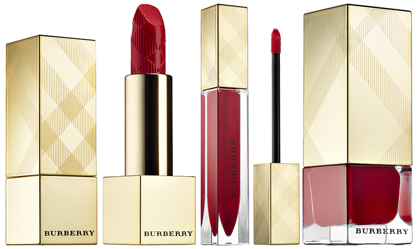 Burberry Makeup Collection for Christmas 2015 Military red