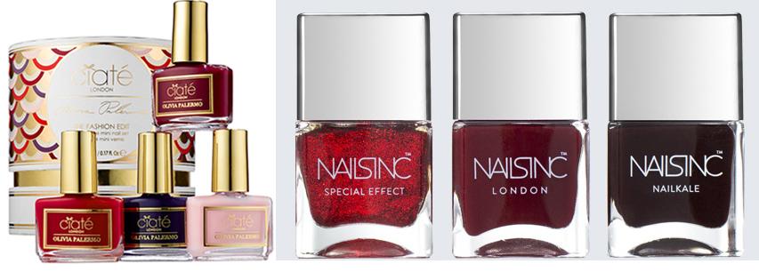 Ciate OLIVIA PALERMO'S FASHION EDIT Nails Inc Code Red Nail Christmas 2015