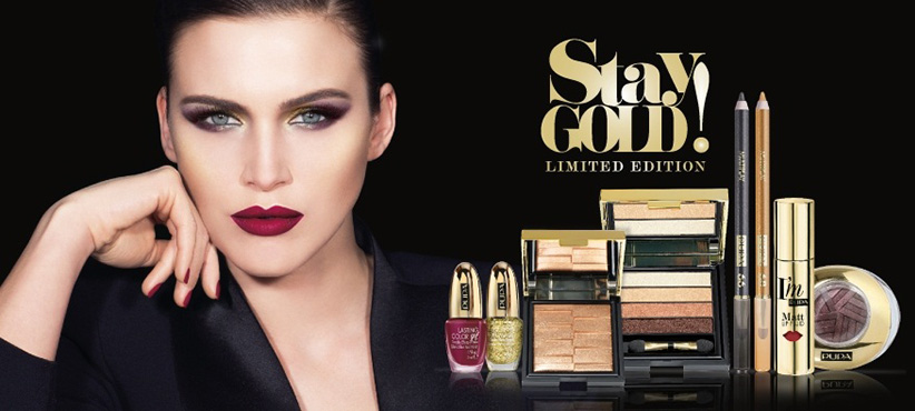 Pupa Stay Gold Makeup collection for Chrismas 2015