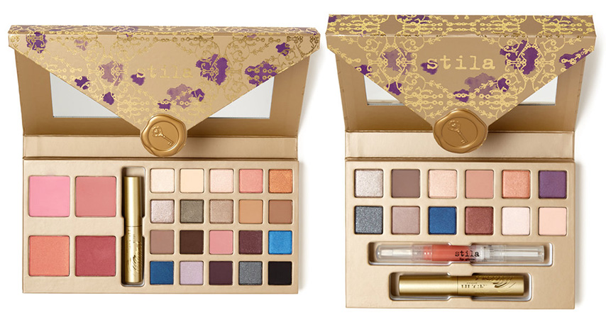 Stila Sealed With A Kiss Makeup Collection for Christmas 2015 gift sets