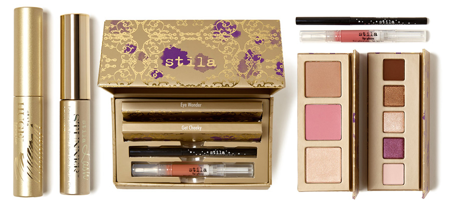 Stila Sealed With A Kiss Makeup Collection for Christmas 2015 mascaras and a face set
