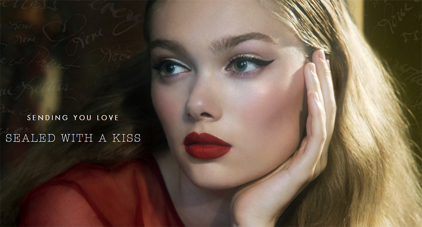 Stila Sealed with a kiss makeup collection for Holiday 2015