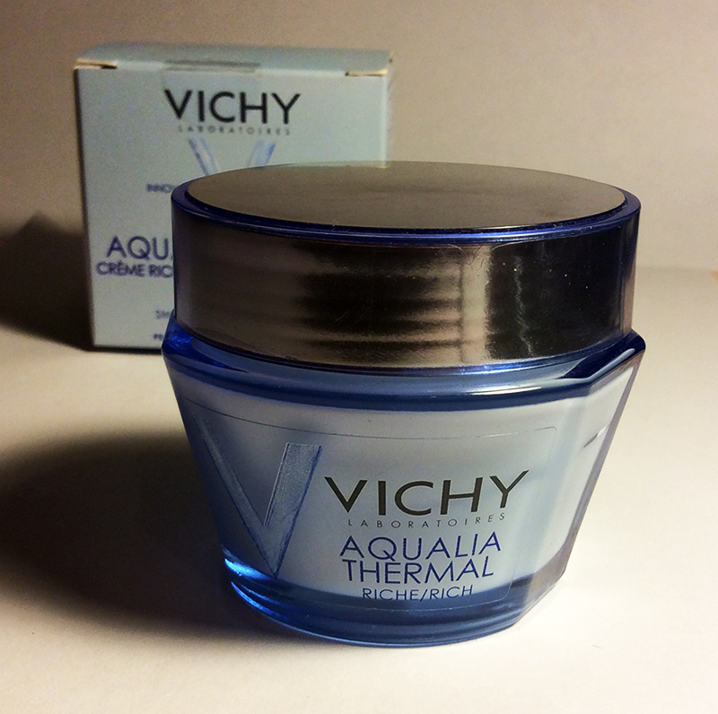 Vichy Aqualia Thermal Riche day cream for dry skin review