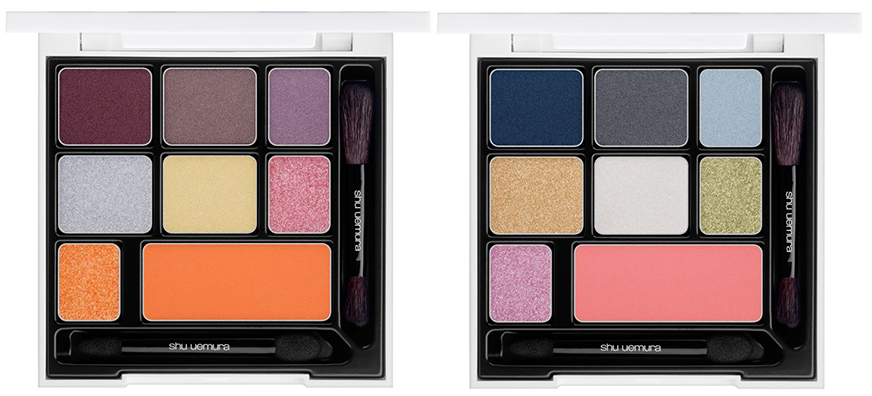 shiseido Maison Kitsuné Smoky Eye And Cheek Palettes Christmas 2015