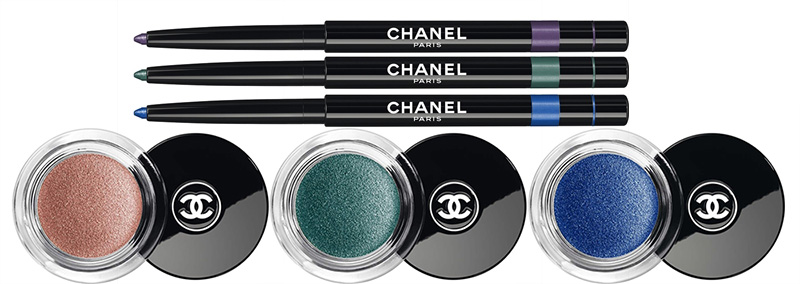 Chanel LA Sunrise Makeup Collection for Spring 2016 eye products