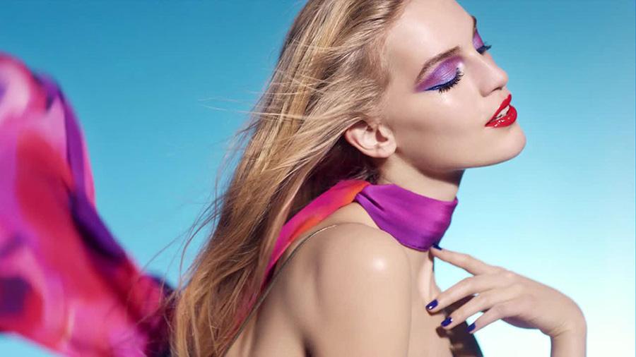 Chanel LA Sunrise Makeup Collection for Spring 2016 promo