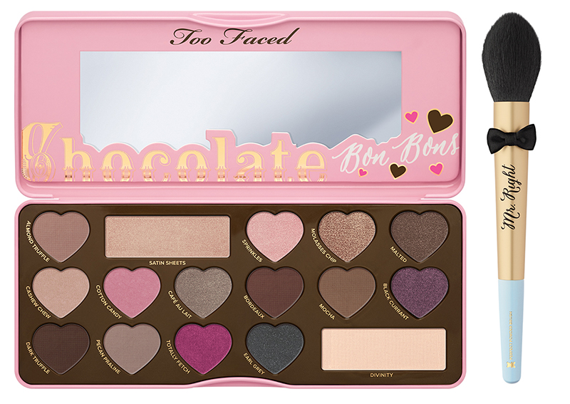 Too Faced Gimme Some Chocolate Makeup collection for spring 2016 1