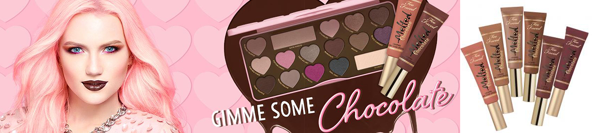 Too Faced Gimme Some Chocolate Makeup collection for spring 2016