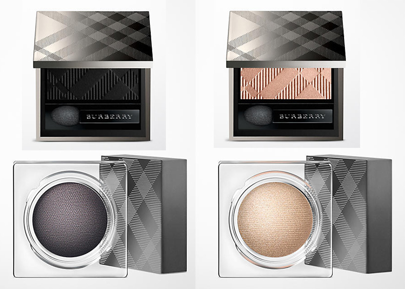 Burberry Velvet & Lace Makeup Collection for Spring 2016 eye shadows