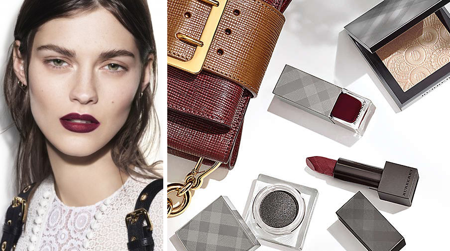Burberry Velvet & Lace Makeup Collection for Spring 2016 promo