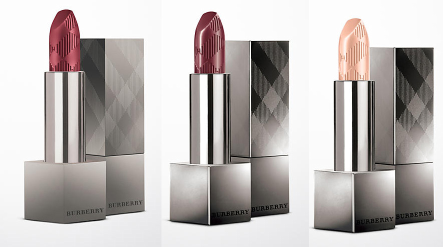 Burberry lipsticksLip Velvet and Burberry Kisses for Spring 2016