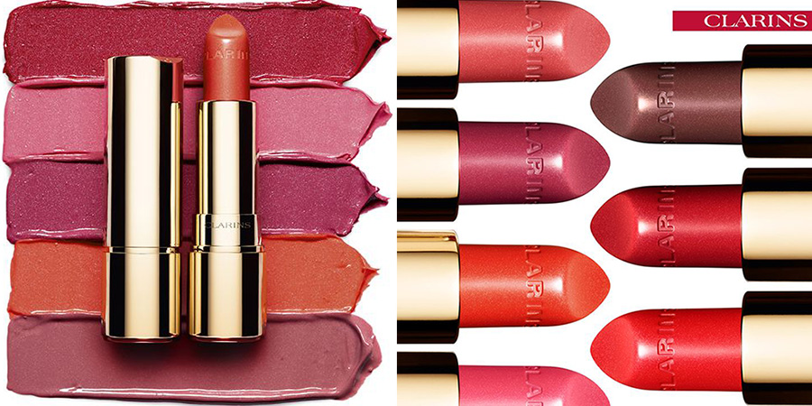 Clarins Joli Rouge Brilliant Perfect Shine Sheer Lipstick spring 2016
