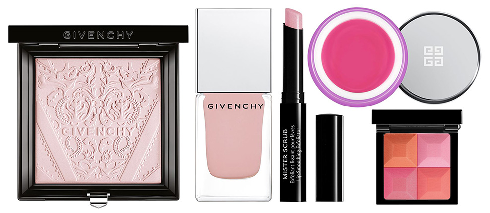 Givenchy La Revelation Originelle Makeup Collection for Spring 2016 lips and face