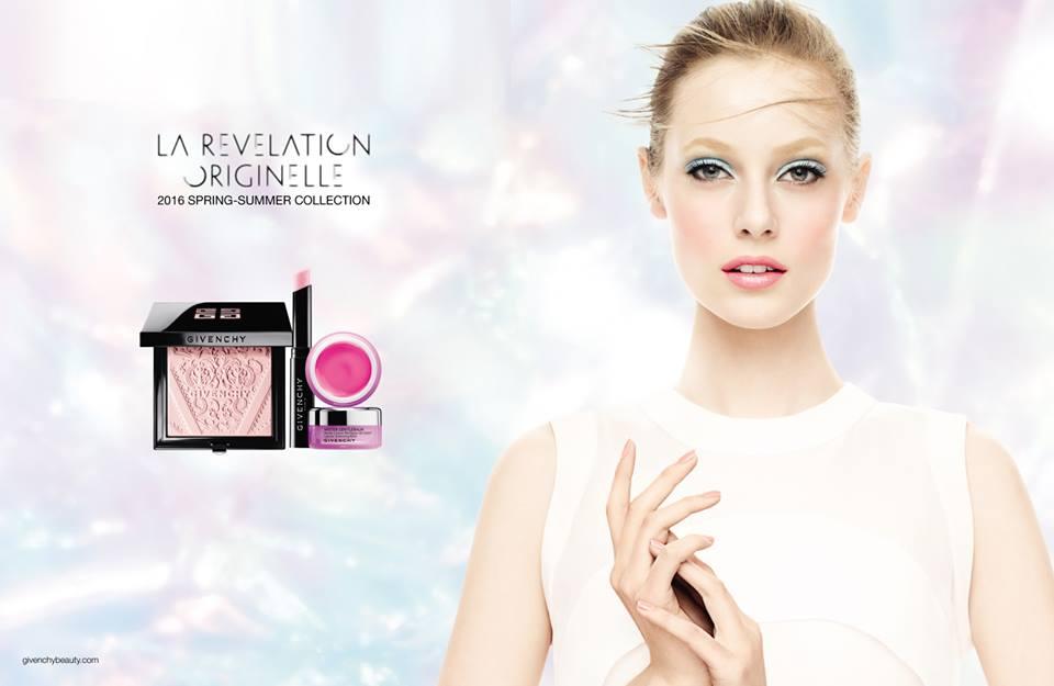 Givenchy La Revelation Originelle Makeup Collection for Spring 2016 promo