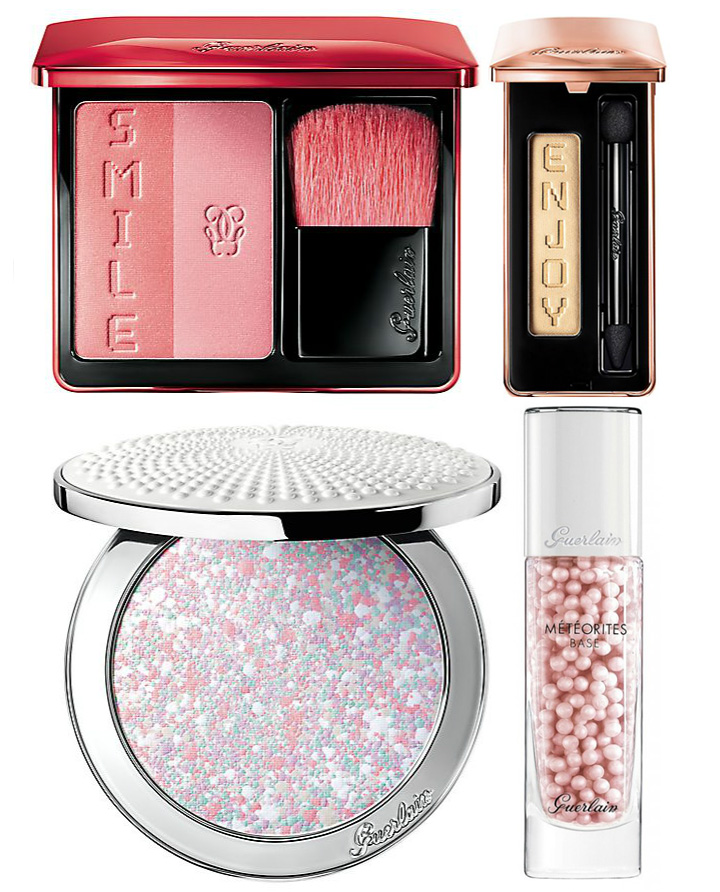 Guerlain Makeup Collection for Spring 2016 meteorites, blush, eye shadows