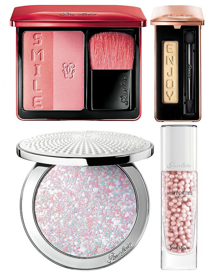 Guerlain Makeup Collection for Spring 2016 meteorites, blush, eye shadows