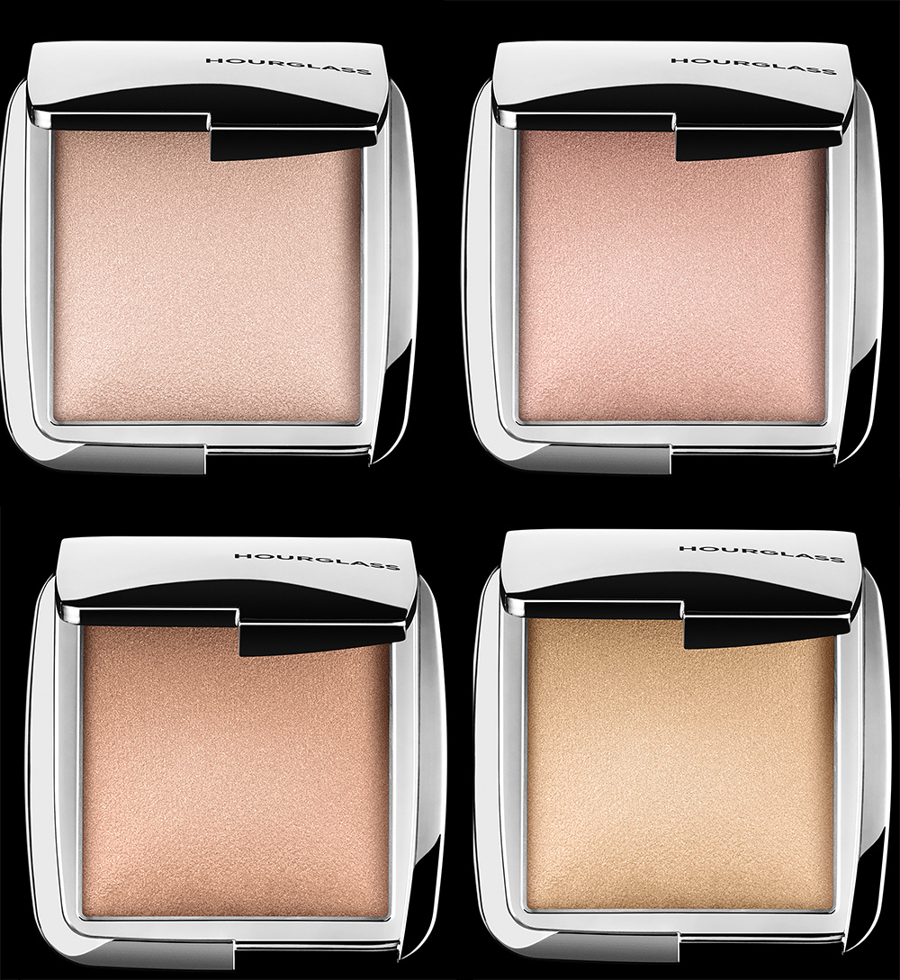 Hourglass Ambient Strobe Lighting Powders for Spring 2016 all shades close up