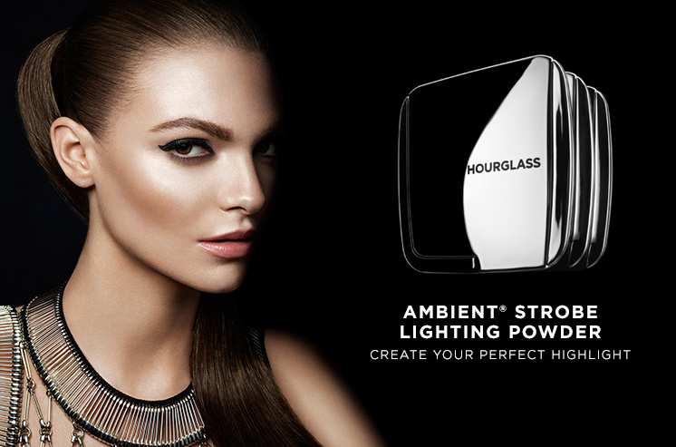 Hourglass Ambient Strobe Lighting Powders for Spring 2016 promo