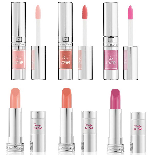Lancome From Lancome With Love Makeup Collection for Spring 2016 lip products
