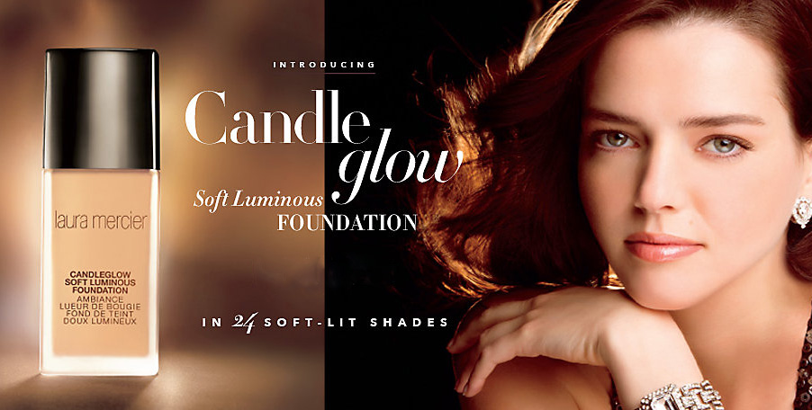 Laura Mercier Candleglow Soft Luminous Foundation promo