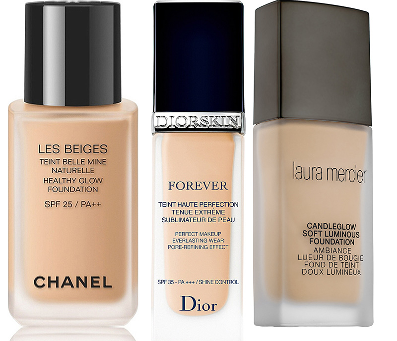 SS16 Foundations Chanel, Dior and Laura Mercier