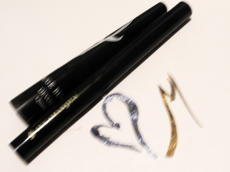 Sparkling Eye Liners I Am Loving Illamasqua and Rouge Bunny Rouge 1