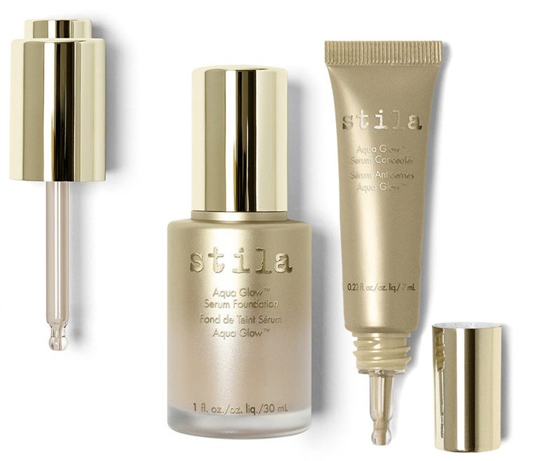 Stila Aqua Glow Serum Foundation and Concealer spring 2016