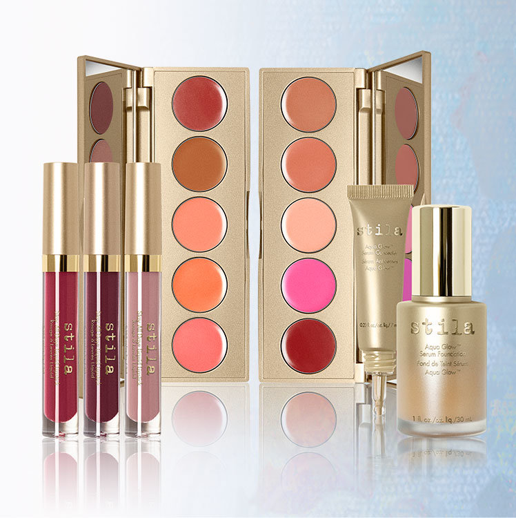 Stila The Impressionist Makeup Collection for Spring 2016 products