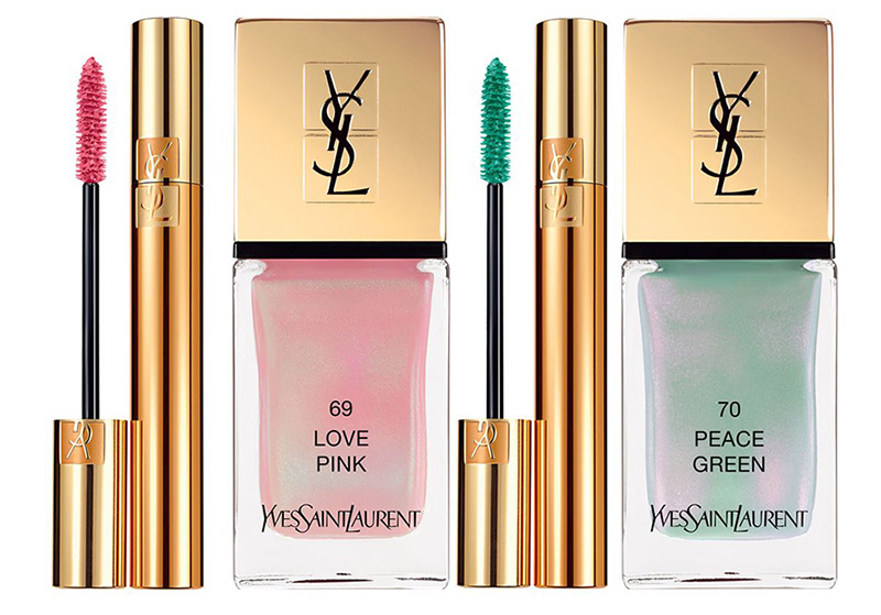 YSL Boho Stones Makeup Collection for Spring 2016 mascara and nail polish