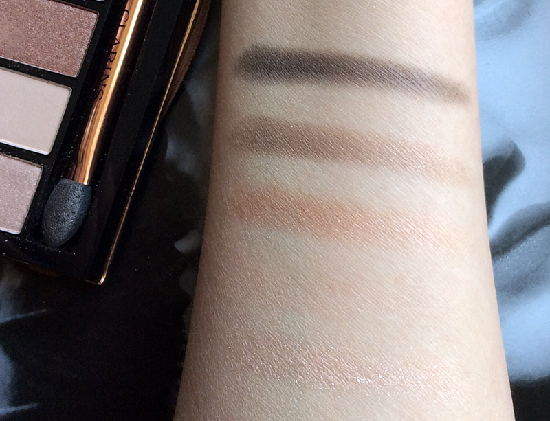 Clarins Natural Glow 5-Colour Eye Shadow Palette Review and Swatches 1