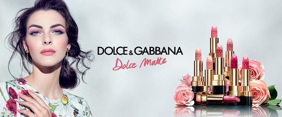 Dolce & Gabanna Rosa Makeup Collection for Spring 2016 matte lipsticks